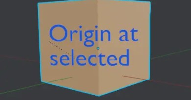 Origin at Selected Add-on