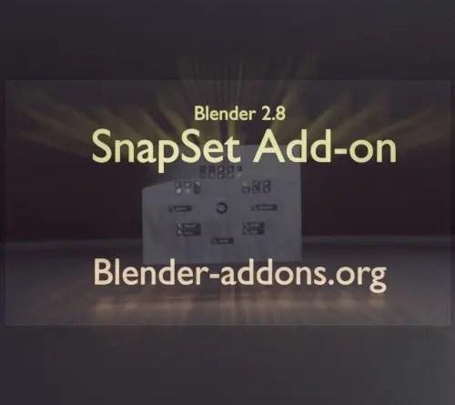SnapSet addon