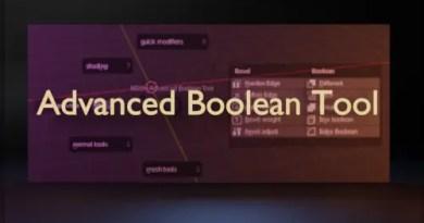 Advanced Boolean Tool (ABT) addon for Blender 2.8