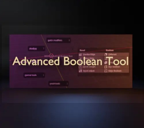 Advanced Boolean Tool (ABT) addon for Blender 2.8