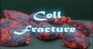 Cell Fracture addon - Blender 2.8