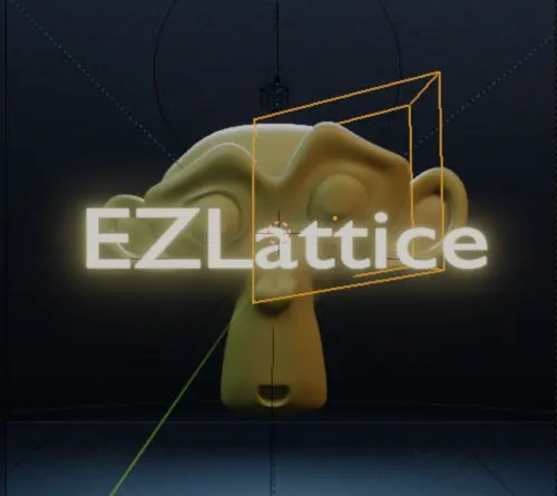 EZLattice addon for Blender 2.8x