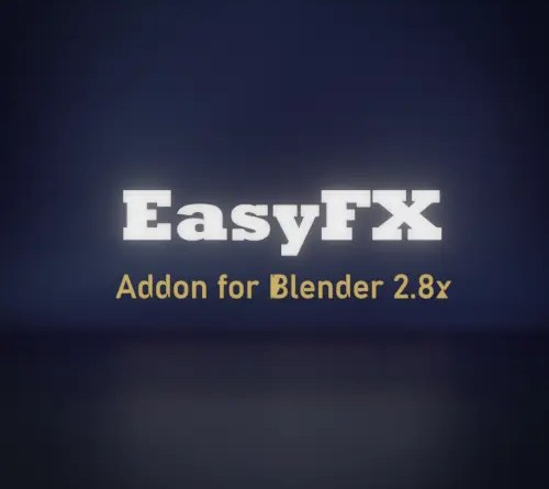 The EasyFX Addon for Blender provides a menu that generates nodes in the compositor.