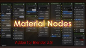 Material Nodes Addon