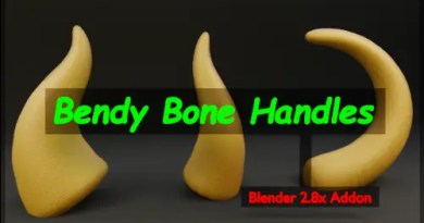 Bendy Bone Handles Addon