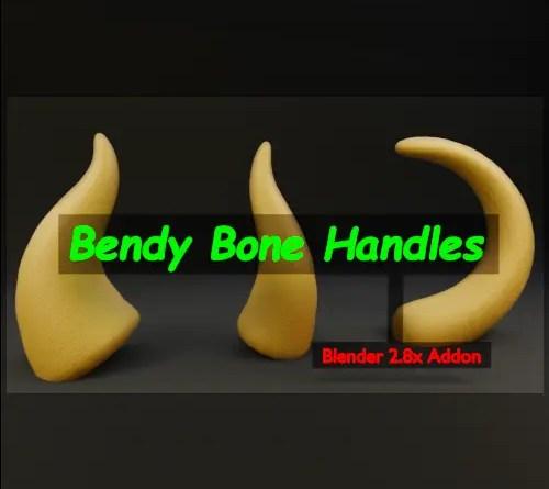 Bendy Bone Handles Addon