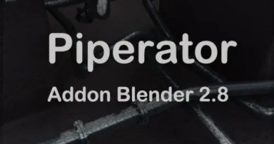 Piperator Addon for Blender 2.8