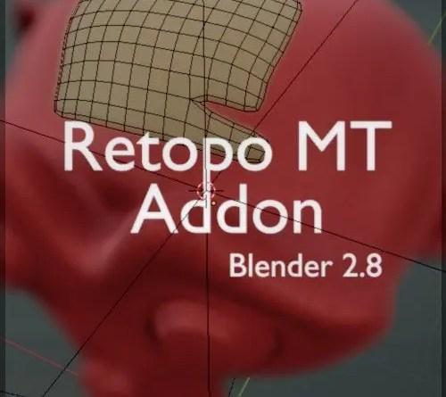 Retopo MT addon for Blender 2.8