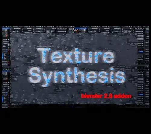 Texture Synthesis addon for blender 2.8
