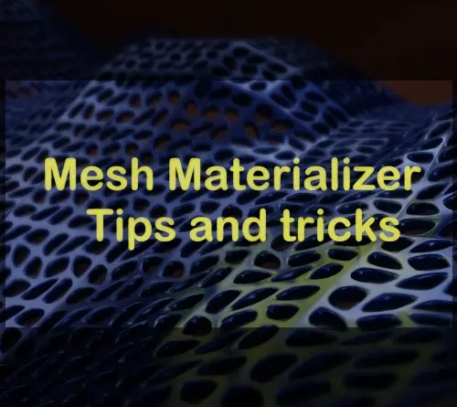 Mesh Materialilzer Addon for Blender 2.82