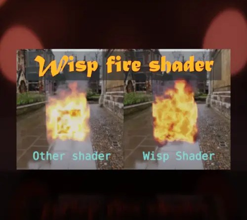 Cover Wisp Fire Shader