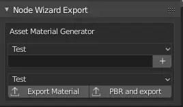 Node Wizard Export