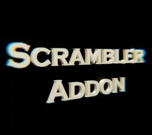 Scramble addon - Cover