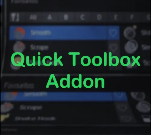 Quick Toolbox Addon - Cover
