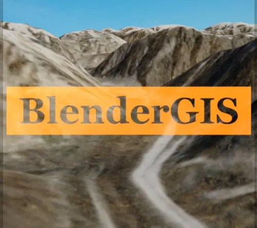 BlenderGIS Addon - Cover