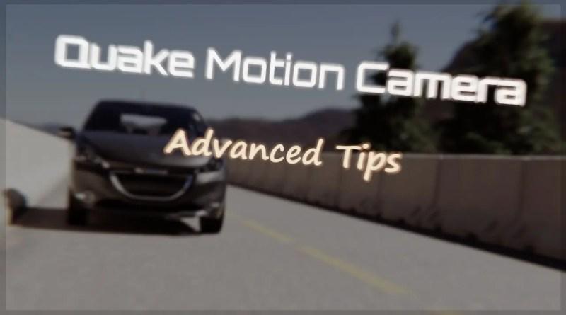 Quake Motion Camera Addon - Cover