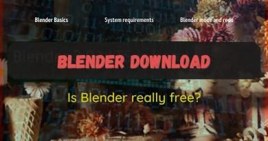 Blender download (cover for article)