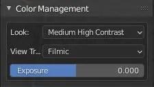 Color Management in Blender