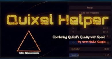 Cover Quixel helper addon