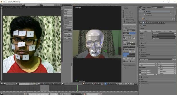 blender peut etre utilisé pour généré des objets en 3d grâce aux caméras