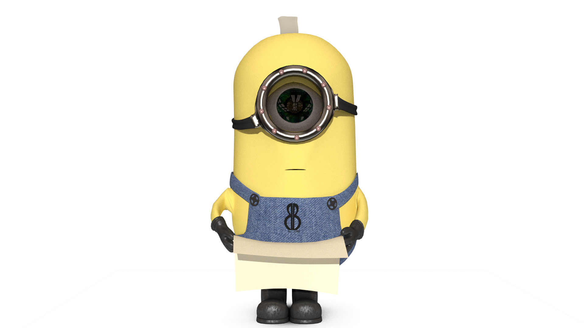 Minion Happy Birthday Finished Projects Blender Artists Community