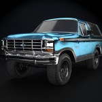Ford Bronco 1985 Finished Projects Blender Artists Community