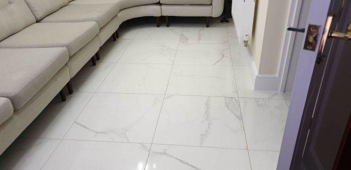 make floor look like tiles actual