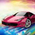 A Pink Ferrari 458 Italia Finished Projects Blender Artists Community