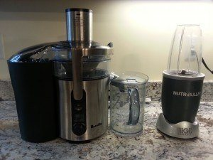 Breville BJE510xl and Nutribullet