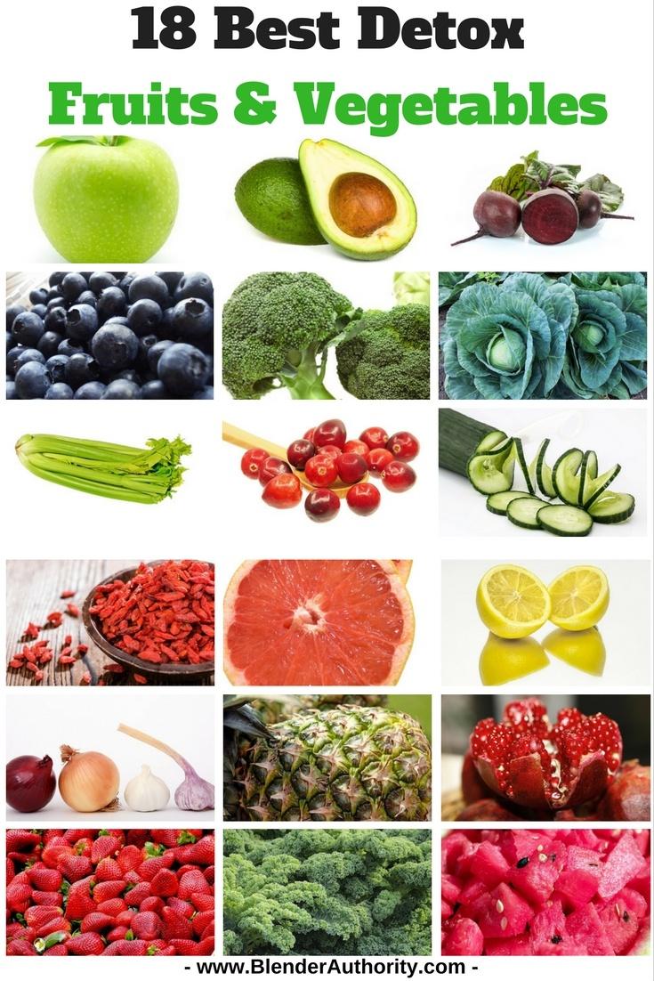 18 Best Detox Fruits and Vegetables