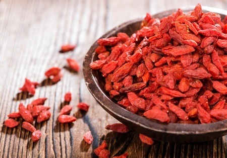 Best Detox Cleanse Fruits - Goji Berries