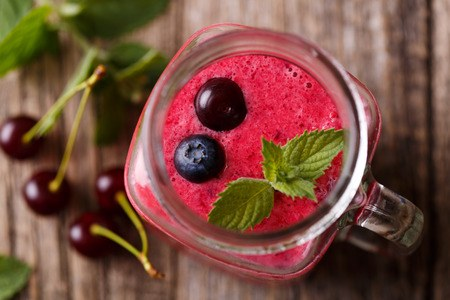 cherry anti inflammatory smoothie