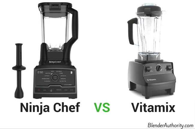 Ninja Chef vs Vitamix