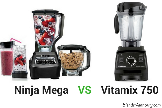 Ninja Mega vs Vitamix 750