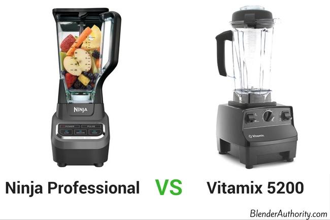 Ninja Professional vs Vitamix 5200