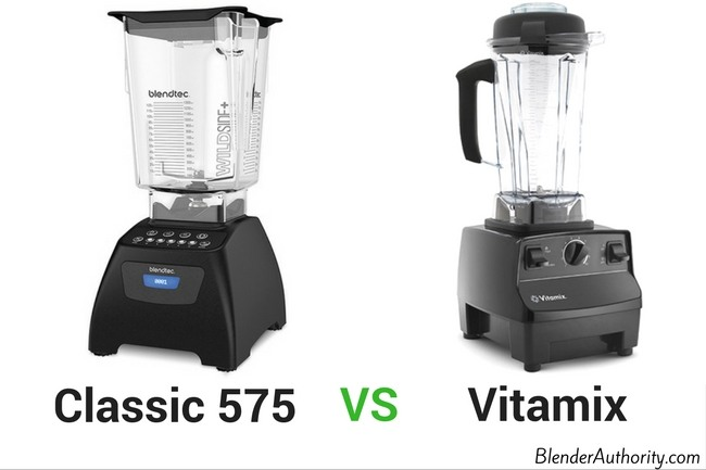 Blendtec 575 vs Vitamix Blenders