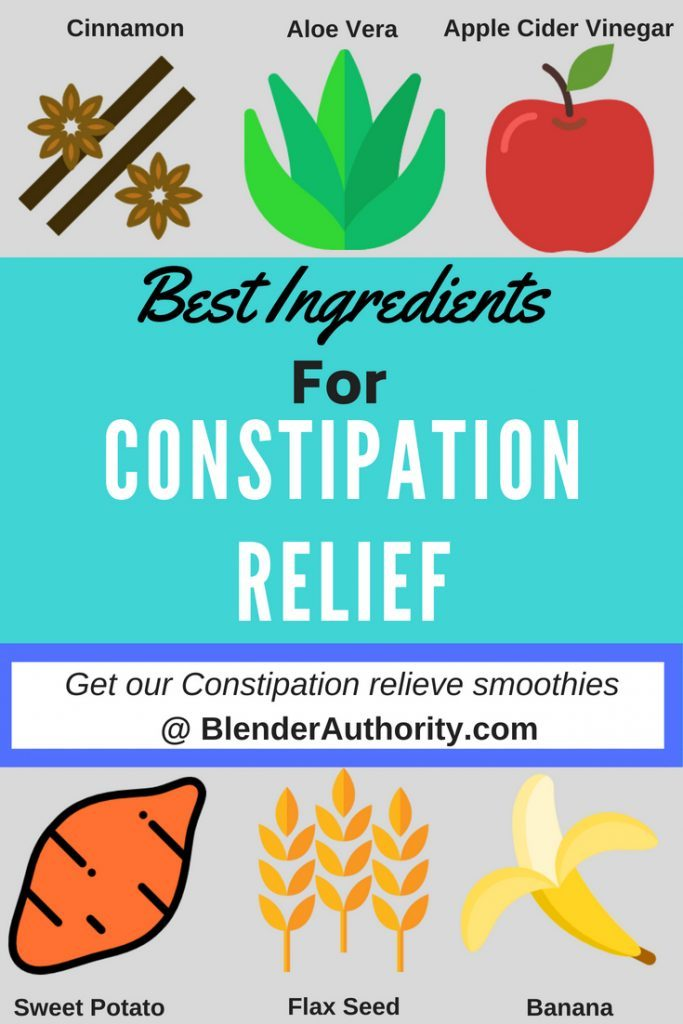 Best ingredients for constipation relief
