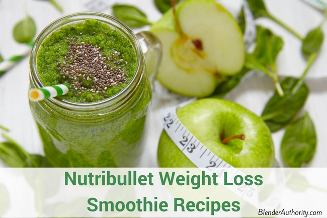 Nutribullet weight loss recipes