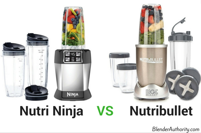 Ninja vs Nutribullet Blender comparison