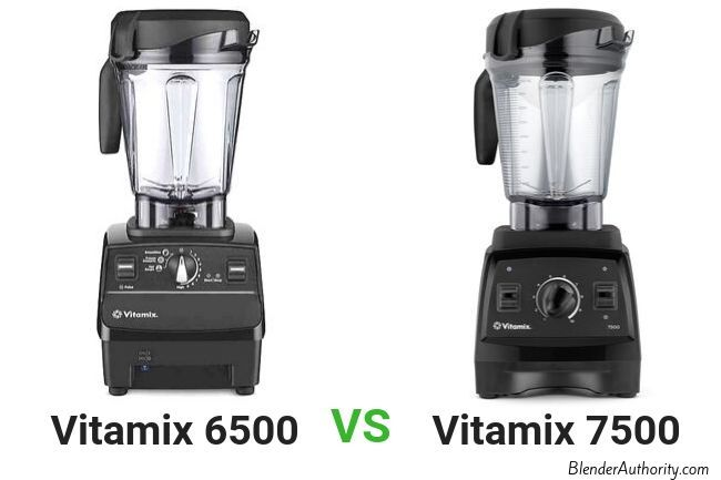 Vitamix 6500 vs 7500 comparison
