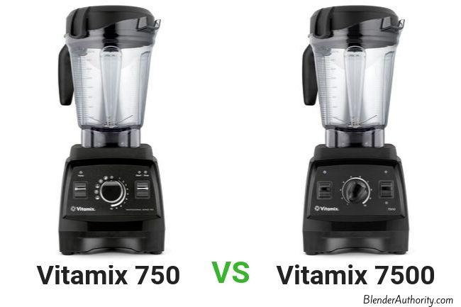 Vitamix 7500 vs 750 Pro