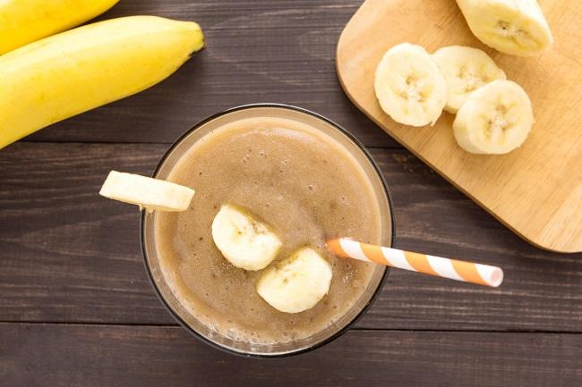 Banana Almond Vanilla Nighttime Smoothie