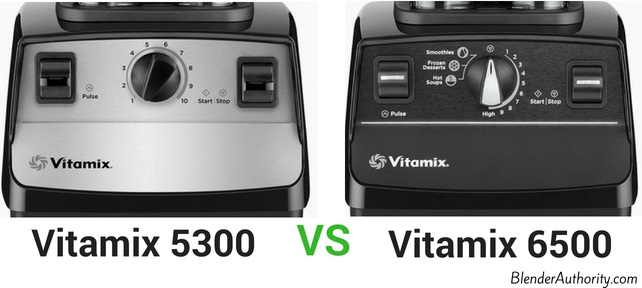 Vitamix 5300 vs 6500 comparison