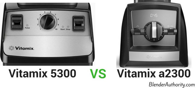 Vitamix 5300 vs Ascent a2300 comparison