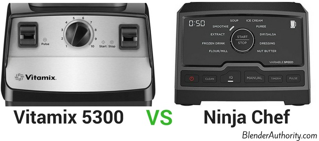 Vitamix 5300 vs Ninja Chef