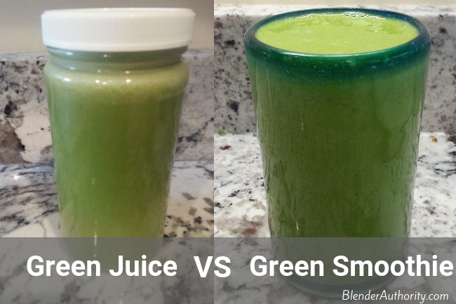 Juicing vs Blending: Green Smoothie or Green Juice, which is better ?