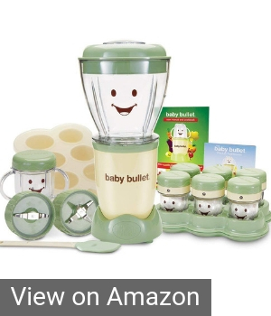 Baby Magic Bullet baby food blender system