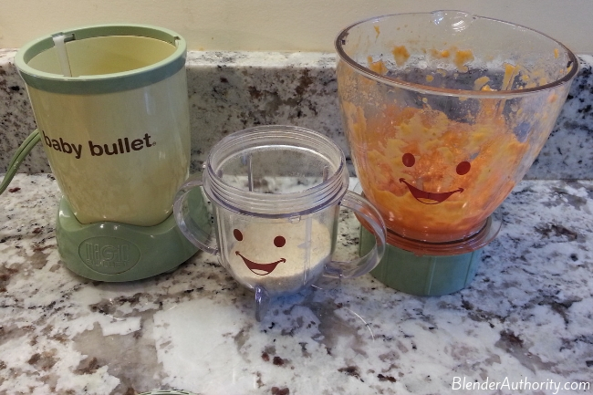 Magic Bullet Baby Bullet blending test