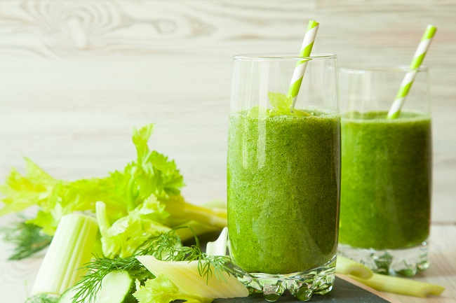 Green Smoothie for headaches