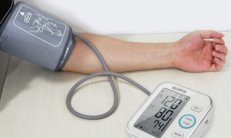 A healthy blood pressure rate is
